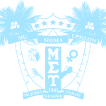 Mu Sigma Upsilon Shield 2014